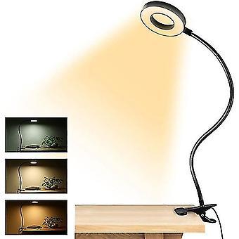Night lights ambient lighting clip-on reading lights 48 led usb desk lamp