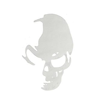 Outdoor chairs 20 pcs car skull sticker decal window truck bumperr styling reflective waterproof white colour