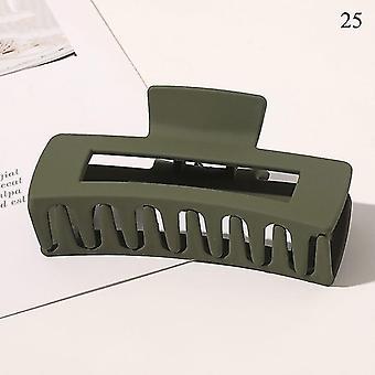 Nordisch inspiriertes Design umweltfreundliche Haarkrallenclips(25)