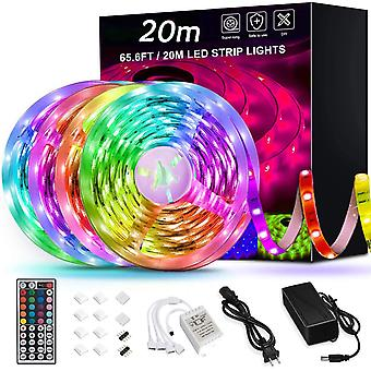 Rgb Led Light Strips Led Tape Lights Color Changing Led Strip Lights With Remote