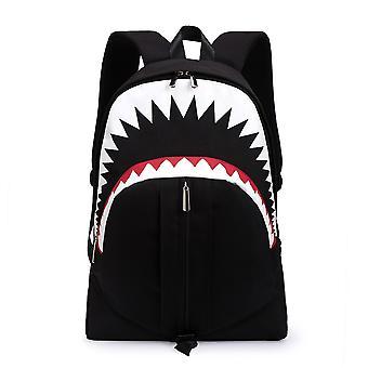Yunyun Multifonctionnel Usb Luminous Backpack Grande Capacité Student Backpack Imperméable à l'eau Respirant