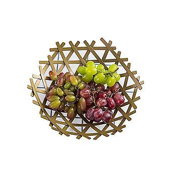 Support de panier de cuvette de fruit de partie supérieure du comptoir pour le décor de table à la maison de cuisine