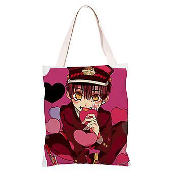 الكرتون أنيمي قماش التسوق حقيبة حقيبة Totes، يوجي أمان #2