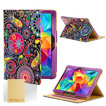 Design Buch Case Cover für Samsung Galaxy Tab S 8,4-Zoll Tablet - Qualle