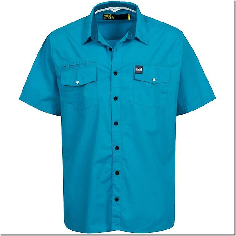 Henleys Men's Cheek Regular Plus Size Short Sleeved Shirt