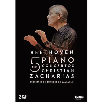 L.W Beethoven - Concertos Pour Piano Integrale [DVD] USA import