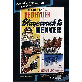 Postkutsche nach Denver (1946) [DVD] USA import