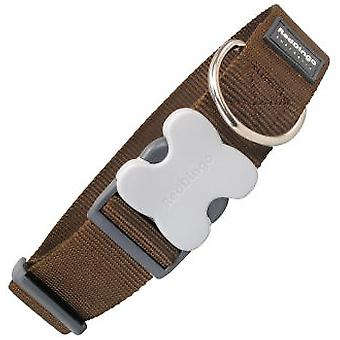 Red Dingo Dog Collar Classic Brown (Dogs , Collars, Leads and Harnesses , Collars)