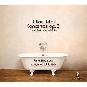 Babell / Ensemble Odyssee / Stegmann - Babell: Concertos Op 3 [CD] USA import