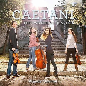 Caetani / Alauda Quartet - Caetani: importation USA deux quatuors à cordes [CD]