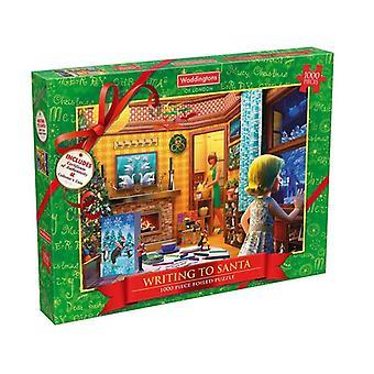 Weihnachten 1000 Stück 2017 Jigsaw Puzzle Waddingtons Nummer 1