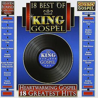 18 mejor de rey Bluegrass / Var - 18 mejores de rey Bluegrass / import de USA de Var [CD]