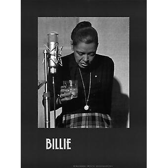 בילי החג הקלטה אחרונה פוסטר הדפסה על ידי מילטון J הינטון (18 x 24)