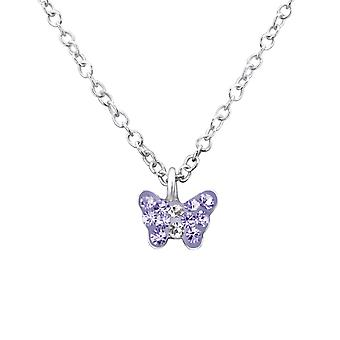 Butterfly - 925 Sterling Silver Necklaces - W29870X