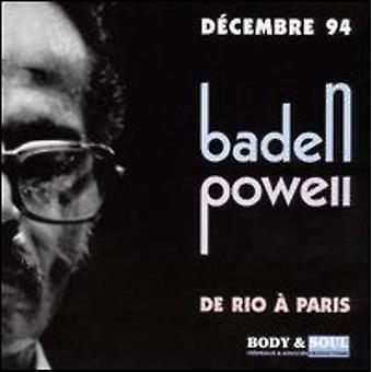 Baden Powell - De Rio a Paris [CD] USA import