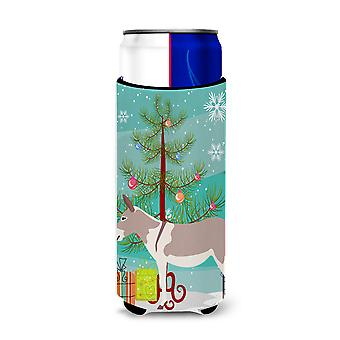 Australian Teamster Donkey Christmas Michelob Ultra Hugger for slim cans