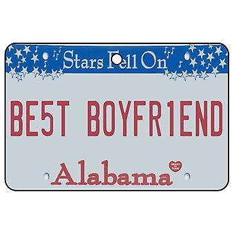 Alabama - Best kjæreste nummerskilt bil Air Freshener