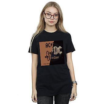 AC/DC Women's Rock of Bust / voor degenen over Splice Boyfriend Fit T-Shirt