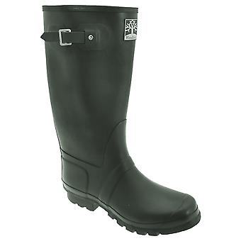 Woodland Unisex Quality Strap Wide Fit Wellington Boots