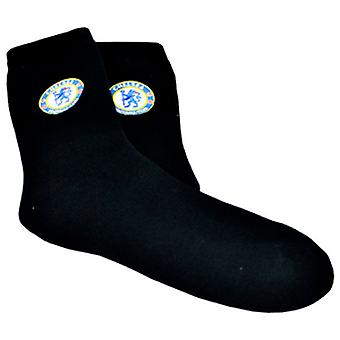 Chelsea FC Mens Official Football Crest Thermal Socks