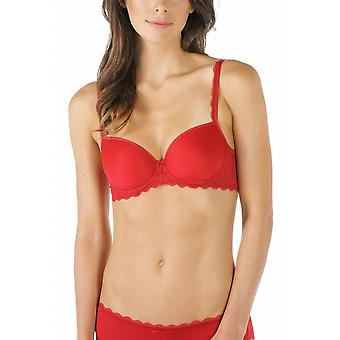 Mey 74801-410 Women's Allegra Ruby Red Solid Colour Underwired Full Cup Bra