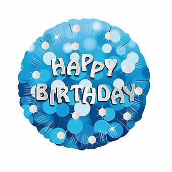 أمسكان بوصة 18 عيد ميلاد سعيد الأزرق التعميم إحباط بالون