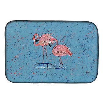 Carolines Treasures  8566DDM Flamingo Dish Drying Mat