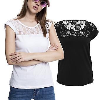 Urban classics dames - vrac haut chemise à fleurs fashion