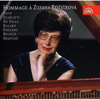 Bach/Scarlatti - Hommage   Zuzanna Ruzickova [CD] USA import