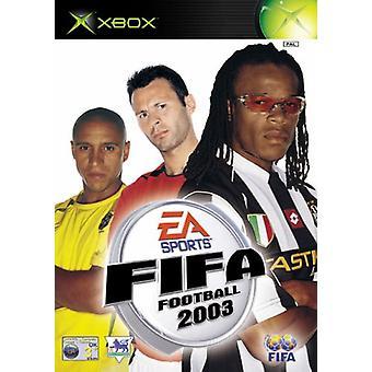 FIFA Football 2003 (Xbox)-ny