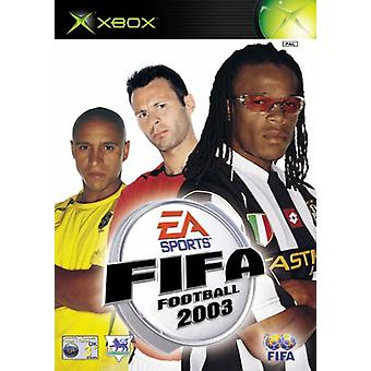 FIFA Football 2003 (Xbox)-nou