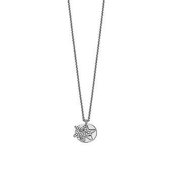 Esprit Damen Kette Collier Silber BRILLIANCE STAR ESNL92273B420