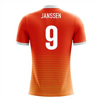 2020-2021 Holland Airo Concept Home Shirt (Janssen 9)