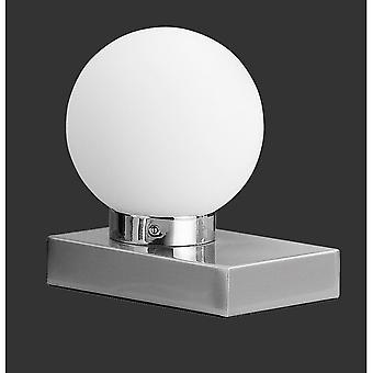 Трио, освещение Davi современные никель Мэтт металл настольная лампа