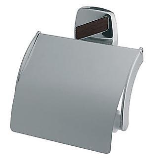 Papel higiénico Rack rollo WC titular baño cromado Zamak de pared