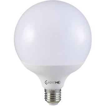 LightMe LED (monochroom) EEC A+ (A++ - E) E27 Globe 12 W = 75 W Warm wit (Ø x L) 95 mm x 129 mm 1 pc(s)