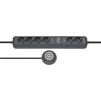 Brennenstuhl 1159560516 Tira de enchufe (+ interruptor) Conector Antracita PG 1 pc(s)