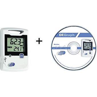 Dostmann Electronic LOG20 Conjunto Multi-canal de registro de dados Unidade de temperatura de medição, Umidade -30 até 60 °C 0 até 99 RH