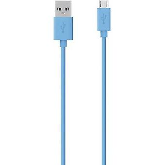 Belkin USB 2.0 Cable [1x USB 2.0 connector A - 1x USB 2.0 connector Micro B] 2.00 m Blue
