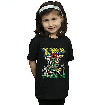 Chicas de Marvel X-Men entrar la camiseta Phoenix