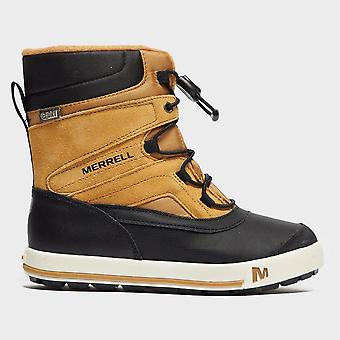 Novo Merrell Girl ' s Snow Bank 2,0 impermeáveis botas de neve marrom