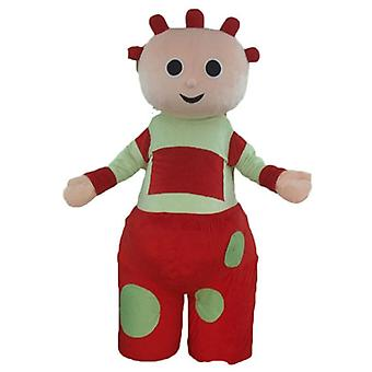 mascot doll, baby giant, red and green SPOTSOUND