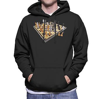 Original Stormtrooper Chess Board Herren Sweatshirt mit Kapuze