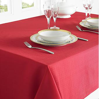 Country Club Table Cloth 130 x 228cm Red