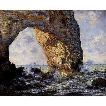 The Manneporte, Claude Monet, 60x50cm