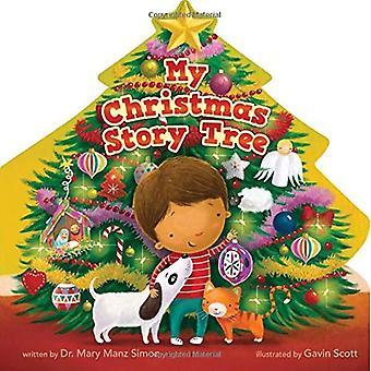 Mijn verhaal kerstboom [Board boek]
