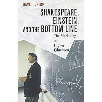 Shakespeare, Einstein und unter dem Strich: die Vermarktung der Hochschulbildung