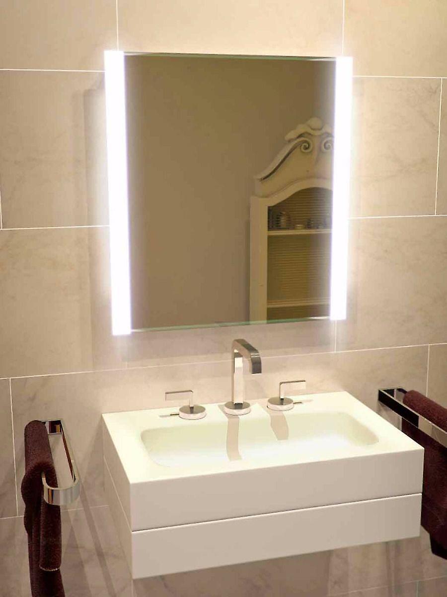 K1113v de prise Double Edge LED salle de bain miroir & capteur et raser Dauphin