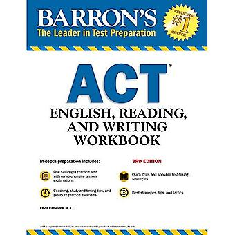Barron's ACT English, Reading, and Writing Workbook, 3rd Edition