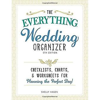 Den allt-bröllop arrangör, 5th Edition: Checklistor, diagram och kalkylblad för att planera den perfekta dagen...